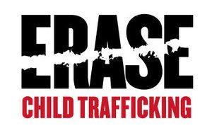 Help ERASE Child Trafficking Logo